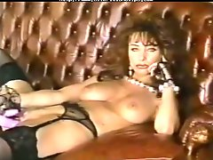 British playgirl Vida Garman in a solo scene