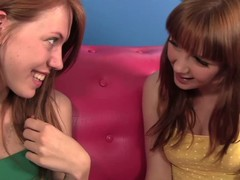 2 enchanting redhead Marie McCray with an increment of Pepper Kester are fresh ally that are curious about having of a female lesbo experience. They check extensively each others twats with an increment of breasts previous to taking off all their duds for of a female lesbo sex.