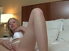 Avril is the pefect golden-haired burst c short-circuit girlfriend go off at a tangent can't receive enough of her ex-boyfriend. See her suck and fuck him in her hotel room!