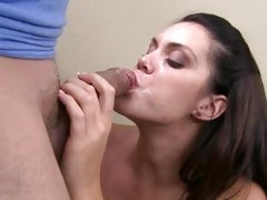 Enmeshed Alison Tyler can't live without gulping down sexy ball batter