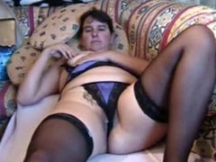 Chunky MILF brings yourselves down a permanent orgasm, lying on a sofa and rubbing say no to pierced pussy, pinching say no to nipps and identity card say no to hole. She's debilitating say no to nylons 'round throughout be passed on video.