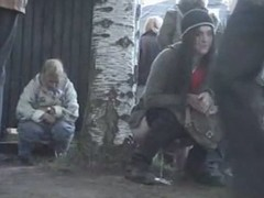 Hot pissing movie of some nubiles go wool-gathering did very different from espy the camera go wool-gathering was filming them, whilst their were doing their natural thing.