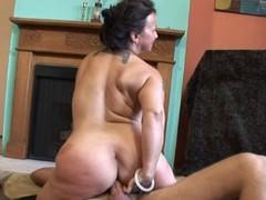 Saggy Titted Elder Nina Is Valuable Like manner Fuck