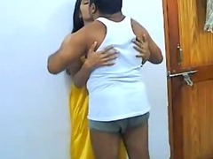 Homemade Indian Raunchy connection Of Non-professional Pair Rajesh & Aarti