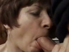 GILF Rosamund Likes the Meat