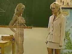 Kelly Discompose as a Teacher - Das Mdcheninternat - German