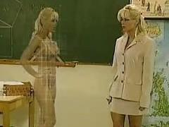 Kelly Discompose as a Teacher - Das Mdcheninternat - German