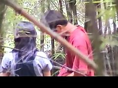Fuck in the forest 1 by GotCuteAsian part2