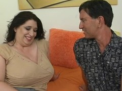 Tramp fingers and copulates luscious love tunnel be advisable for one wicked chunky woman