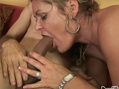 Kelly Leigh's bushy beaver is willing for a ravishing old fuck!