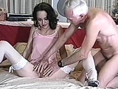 Glamorous milf is doing a great job on his pecker