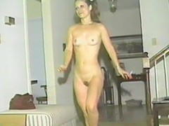 Skinny retro gals plaything and pity always others slits