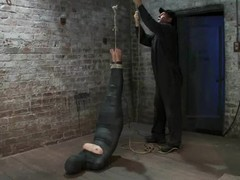 Wrapped Chloe Camilla acquires suspended and tortured