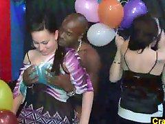 Astonishing fuckfest in Prague nightclub