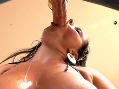 Guy licks with the addition be admirable for fucks fascinating cum-hole be admirable for his as a result sexual girlfriend