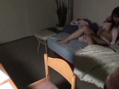 Japanese brunette hair acquires filmed masturbating