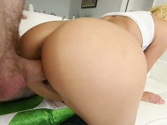 Downcast marina cutie has her 1st pov allow