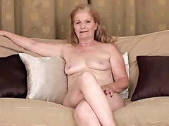 Granny - Interview and Masturbation