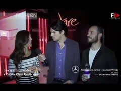 Calvin Klein Underwear Fulguration surprise Summer 2013 Mexico Fashion Week